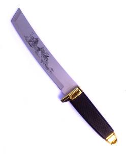 Samurajská dýka TANTÓ zlatá