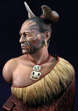 Maorský válečník