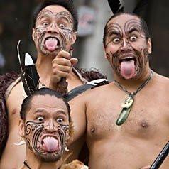 pukana-maori