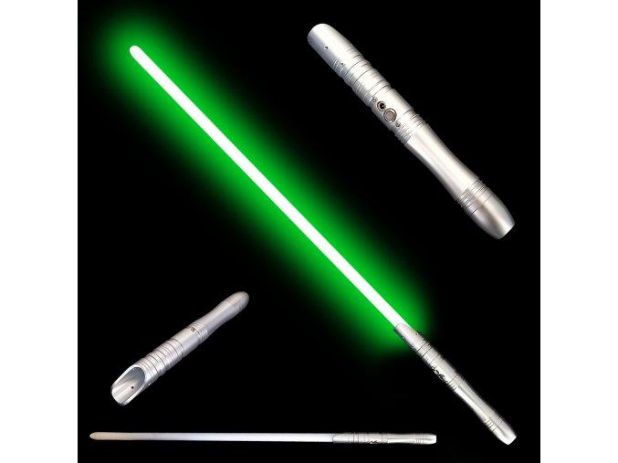 """Světelný meč """"JEDI IN TRAINING"""" Plně kontaktní! Silver - Multicolour"""