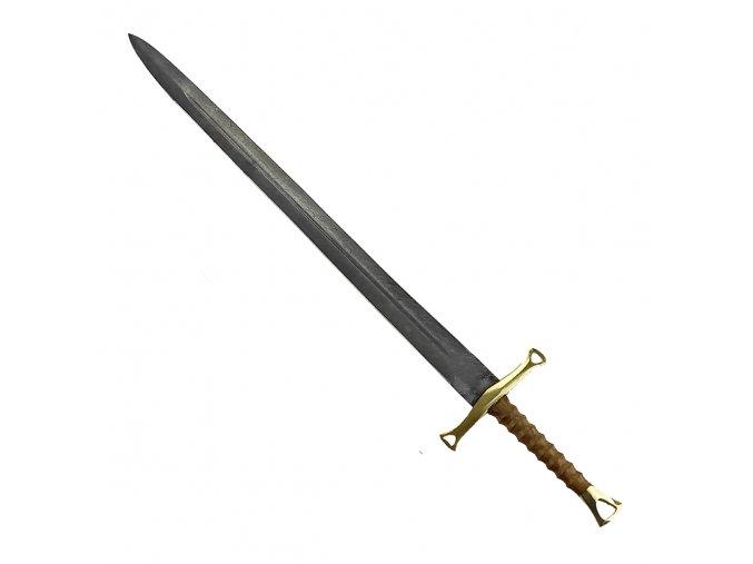"Damaškový rytířský meč ""KNIGHTLY HERITAGE"" kovaný!"
