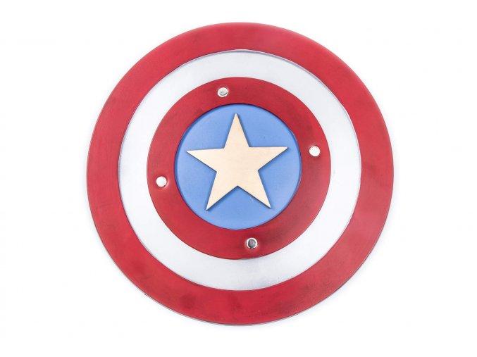 """Měkčený štít """"STEVE ROGGERS"""" Kapitán Amerika"""