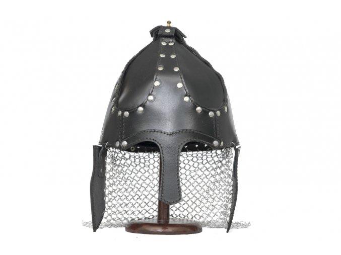 """Kožená helma """"SARACEN HELMET"""""""