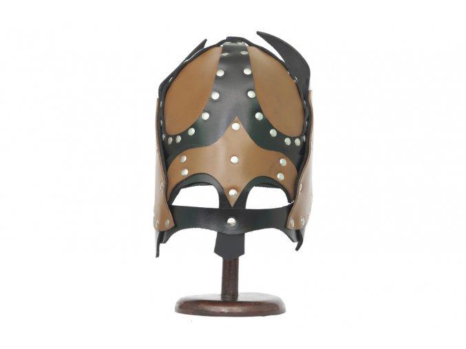 """Kožená helma """"BRUTUS SWORDSMAN"""""""