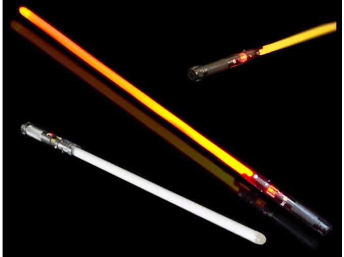 """Světelný meč """"SITH LORD"""" plně kontaktní s krystalem"""