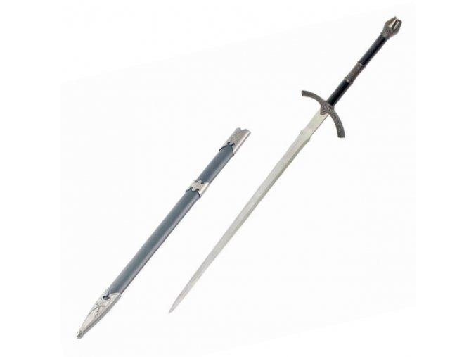 """Meč černokněžného krále Angmaru """"WITCH-KING´S SWORD"""" ocelový"""