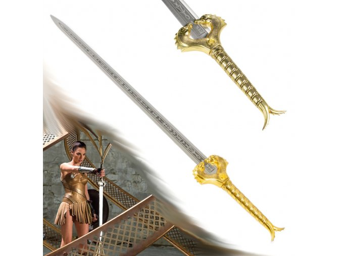 """Meč Diany z Themysciry """"GOD KILLER"""" Wonderwomen"""