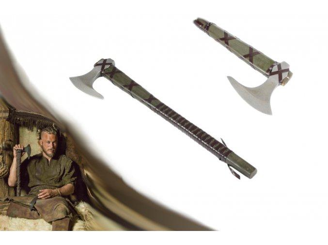 "Vikingská sekera ""AXE OF RAGNAR LOTHBROOK"" Vikings"