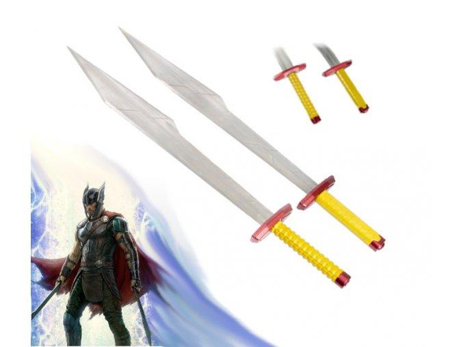 "Thorovi meče ""SWORDS OF THOR"" Thor: Ragnarok"