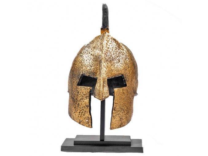 """Detailní spartská helma """"SPARTAN WARRIOR"""" pryskyřice HQ"""