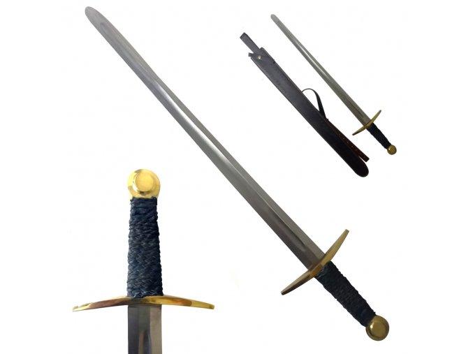 """Jednoruční meč """"HONOR AND STRENGHT!"""" kontaktní, NA ŠERM!"""