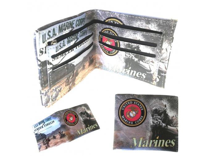 """Outdoorová víceodolná peněženka """"MARINES """", waterproof!"""
