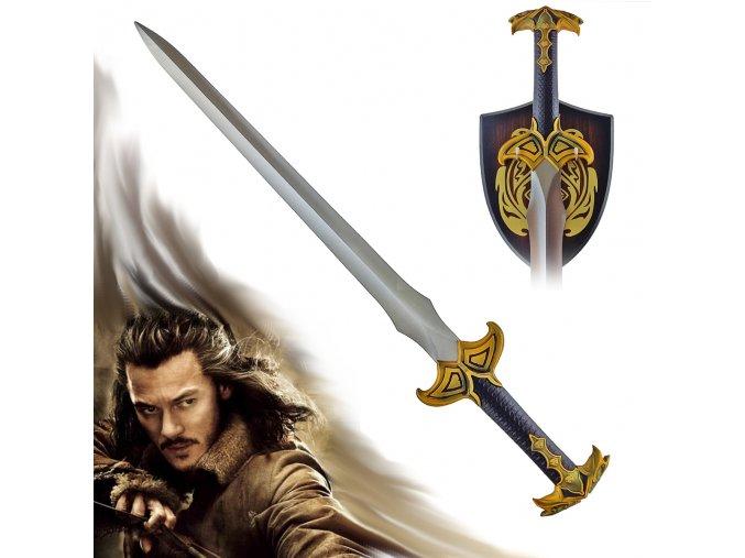 """Meč Barda krále Dolu """"SWORD OF BARD"""" Hobbit"""
