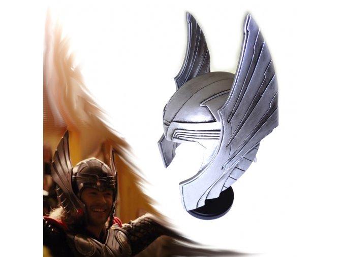 """Thorova přilba """"GOD OF THUNDER"""" Pryskyřice"""
