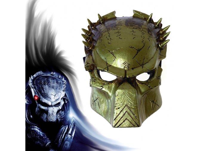 """Maska Predátora """"WOLF"""" Alien vs Predator 2"""