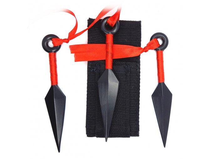 """Vrhací nože """"TRIO KUNAI"""""""