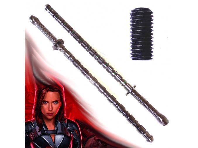 "Bojová tyč ""BLACK WIDOW STAFF"" Avengers"