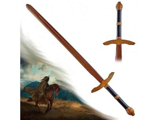 """Gotický dřevěný meč """"LITTLE DUNADAN"""""""