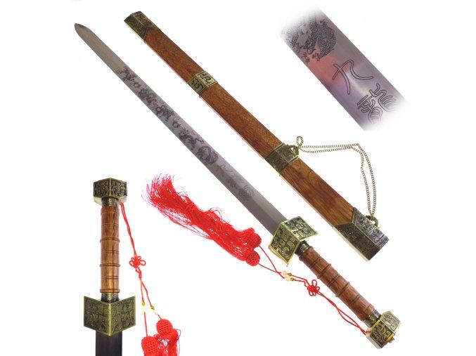 """Čínský těžký meč """"CHINESE ROYALTY""""jian"""