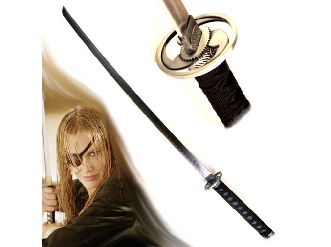 "Katana ""KILL BILL 3 seconds"" dřevo"