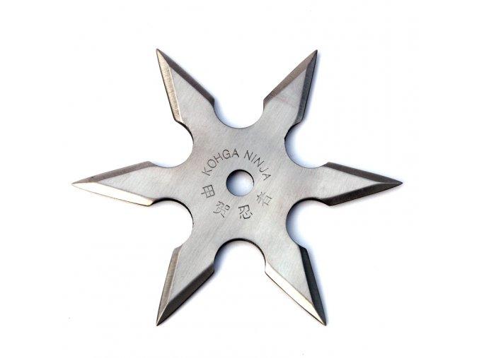 """Vrhací hvězdice """"NATTY"""" šesticípá stříbrná"""