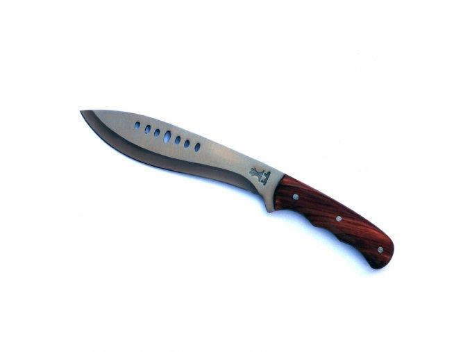 """Nůž """"KHUKRI"""" dřevěný"""