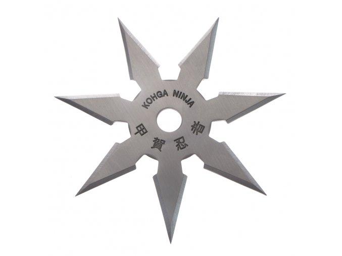 """Vrhací hvězdice """"ARROW"""" sedmicípá, stříbrná"""