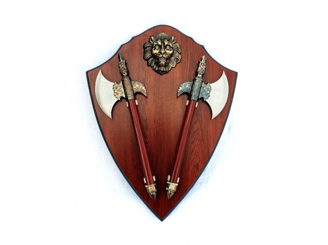 """Středověký erb """"LION'S HEART"""""""