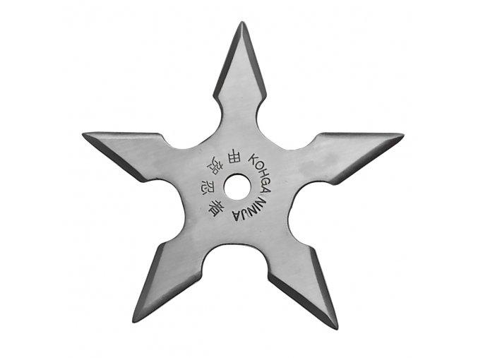 """Vrhací hvězdice """"NATTY"""" pěticípá stříbrná"""