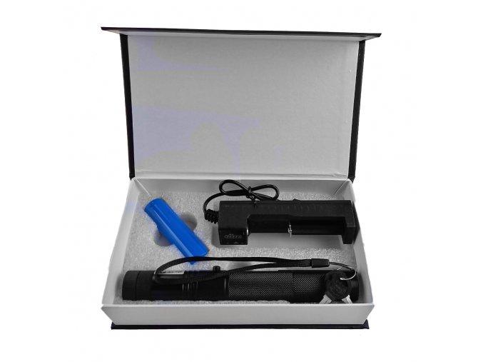 """Velký zelený laser """"JEDI SWORD"""" <1000mW"""