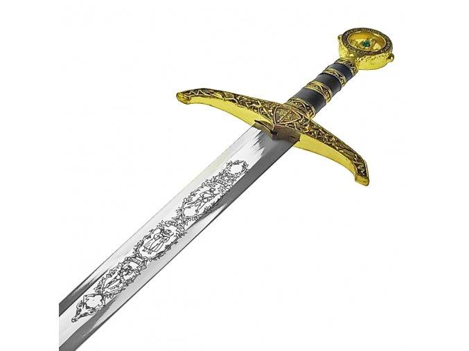 """Honosný středověký meč """"EXCALIBUR"""" II. jakost"""