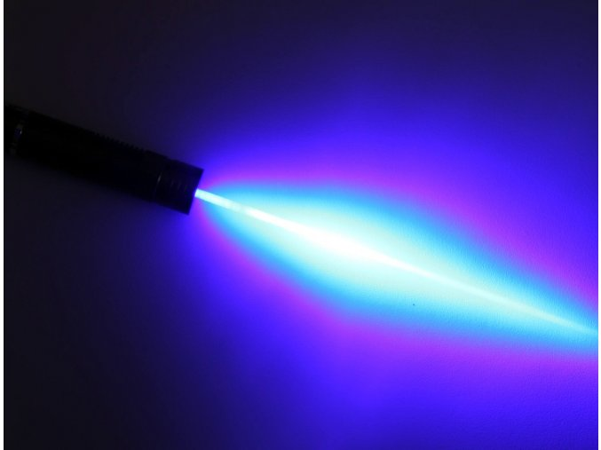 "Velký modrý laser ""OBI-VAN KENOBI SWORD"" <10000mW"
