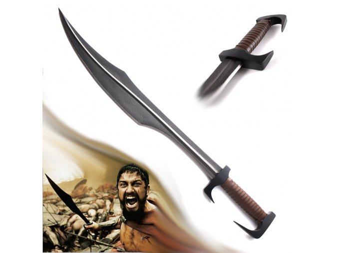 """Spartský meč """"300 BITVA U THERMOPYL"""" kovaný"""