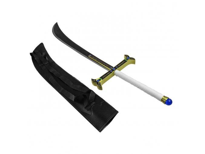 """Masivní meč """"DRACULE MIHAWK"""" anime one piece"""