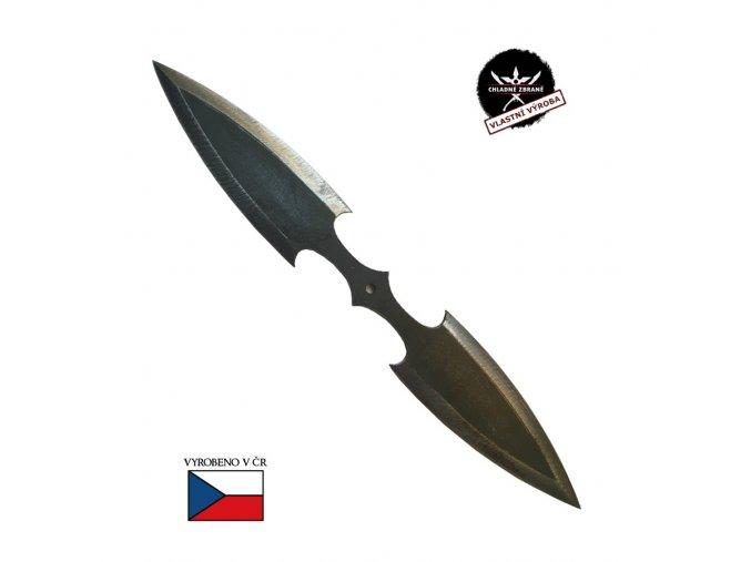 """Oboustranný vrhací nůž """"DOUBLE KILL"""" železný"""