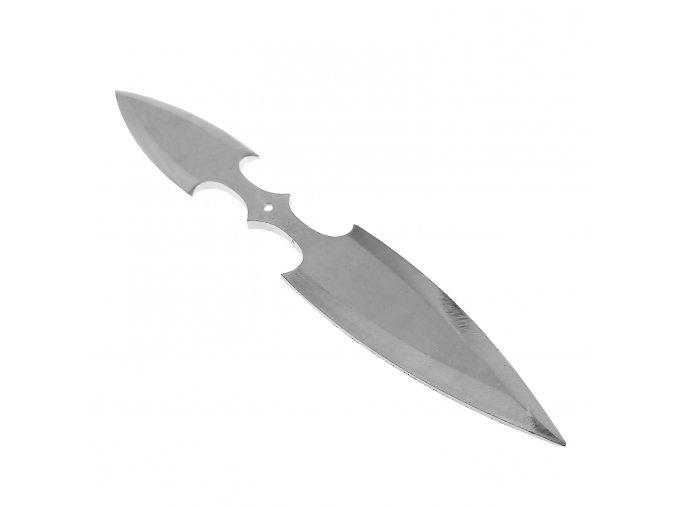 """Oboustranný vrhací nůž """"DOUBLE KILL STAINLESS"""" železný s nerez úpravou"""