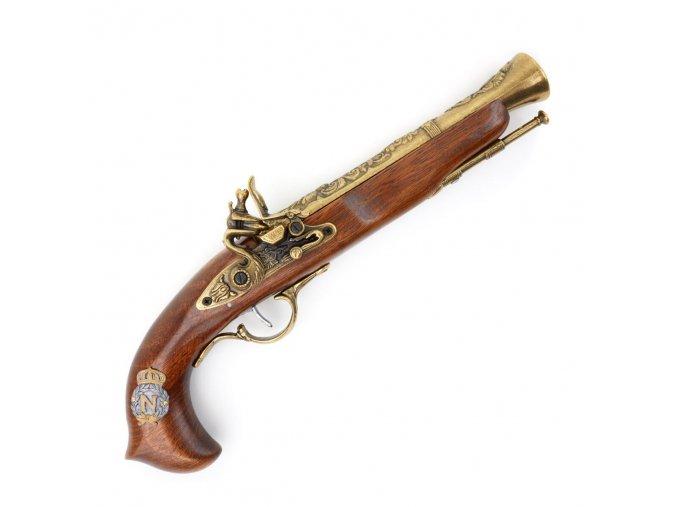 """Francouzská duelová pistole """"HIS ROYAL MAJESTY"""""""