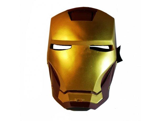 """Maska Tonyho Starka """"IRON MAN"""""""