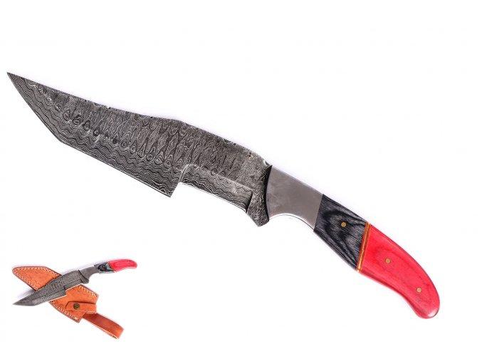 """Damaškový nůž s dvojitým výbrusem """"TWO FACES"""""""