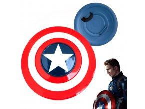 """Štít Kapitána Ameriky """"ROGERS SHIELD"""" kovový"""