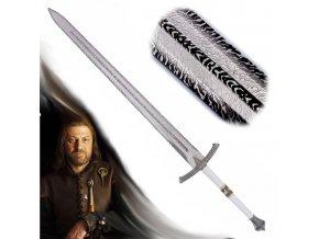 "Jeden a půl ruční meč ""Eddard Stark"" Game of Thrones-replika"