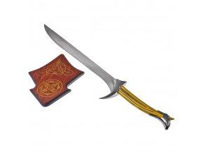 "Meč Thorina Pavézy ""ORCRIST"" Hobbit replika"