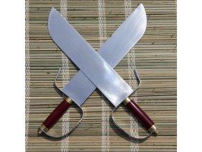 """Čínské motýlý meče """"BUTTERFLY SWORD"""" kung fu - 2 ks!"""