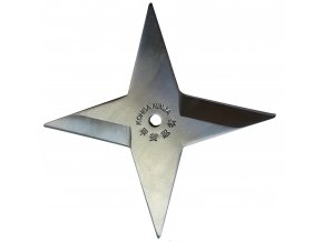 "Vrhací hvězdice ""SILVER SHURIKEN"""