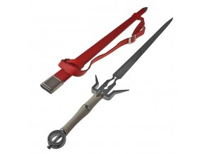 "Ocelový meč Ciri ""SWORD OF CIRI"" Witcher 3: Wild Hunt"