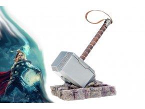 """Thorovo kladivo """"STEEL MJOLNIR"""" ocelová replika HQ provedení!"""