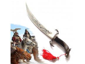 Mongol Rider - Black Horsea