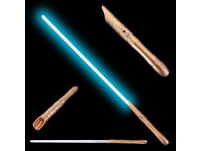 """Světelný meč """"APPRENTICE OF JEDI ORDER"""" Plně kontaktní! Multi-color!!! Gold"""