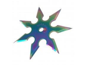 """Vrhací hvězdice """"RAINBOW STAR"""" 7 cípů"""