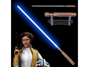 """Světelný meč """"LEIA ORGANA"""" Plně kontaktní! Multi-COLOR!!!"""